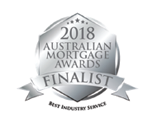 2018 Australian Mortgage Awards Finalist